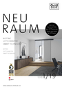 In our current customer magazine NEURAUM 2019, we present the innovations in the GRIFFWERK range.