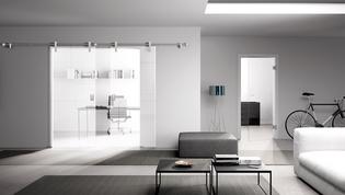schiebet rsysteme in edelstahloptik griffwerk. Black Bedroom Furniture Sets. Home Design Ideas