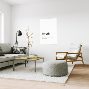 Hello Hygge! Cosiness, naturalness and tasteful restraint determine the interiour trends. Home should be a place of security.