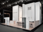 GRIFFWERK trade fair stand at BAU 2017 impresses reserved the color black for the door fittings and the smoked glass interior doors. GRIFFWERK offers their expertise for door fittings and interior glass doors.