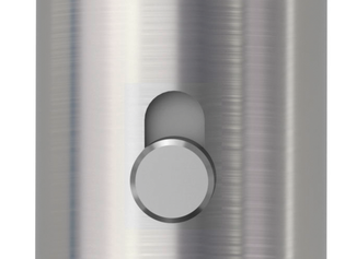 Detail illustration shows the GRIFFWERK door handle set smart2lock with opened locking mechanism